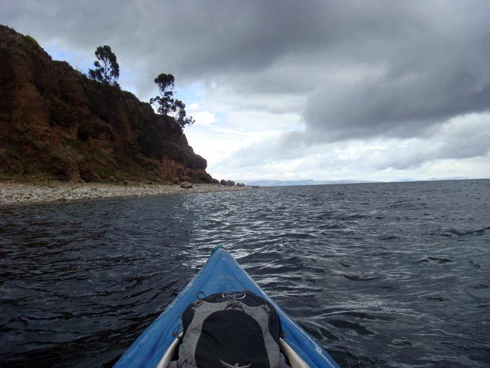 Titicaca - Kajak